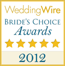 Indie Wedding DJ 2012 Bride's Choice Award Winner
