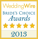 Indie Wedding DJ 2013 Bride's Choice Award Winner