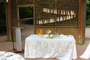 Kortright Center wedding reception