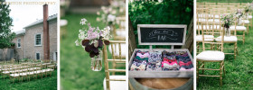 Cambridge Silt Barn Outdoor Wedding Ceremony